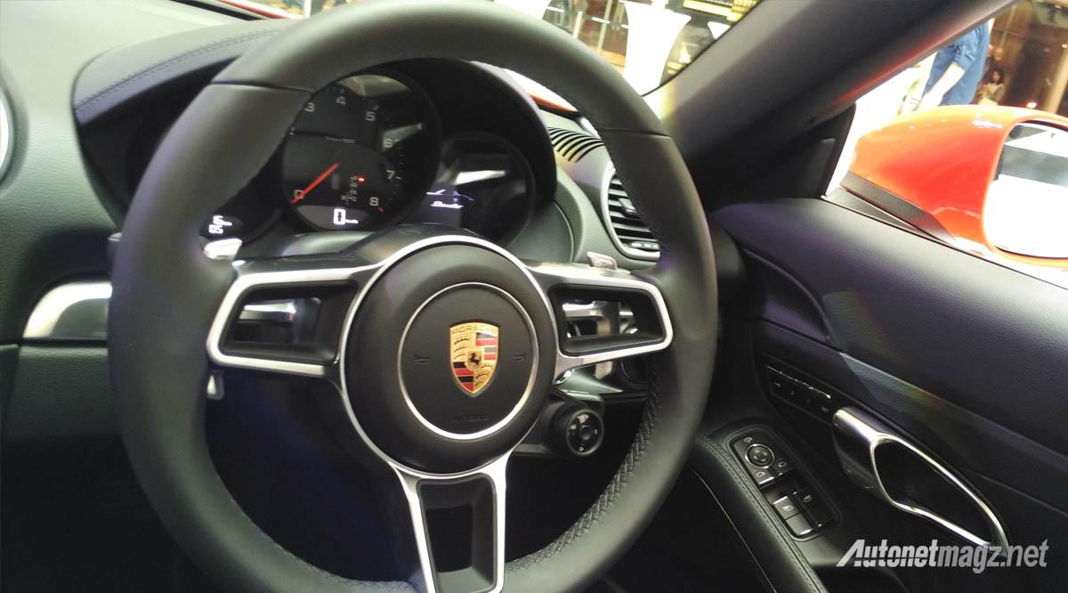 Porsche 718 Boxster setir