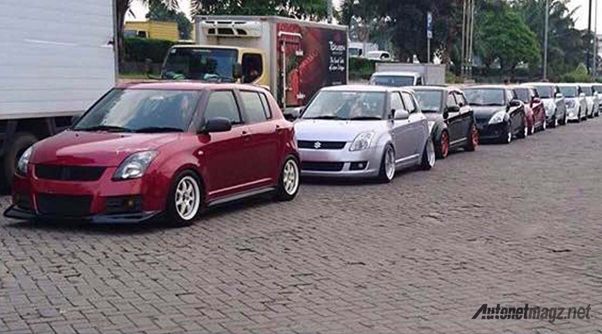 Swift Club Indonesia Konvoi