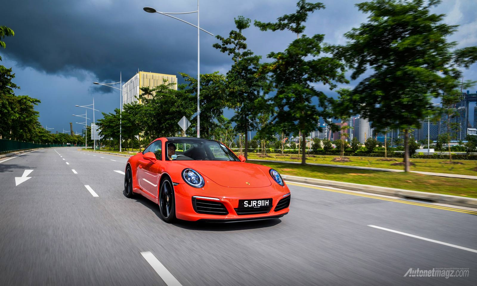 Wallpaper sportscar supercar Porsche 911 Carrera S 2016