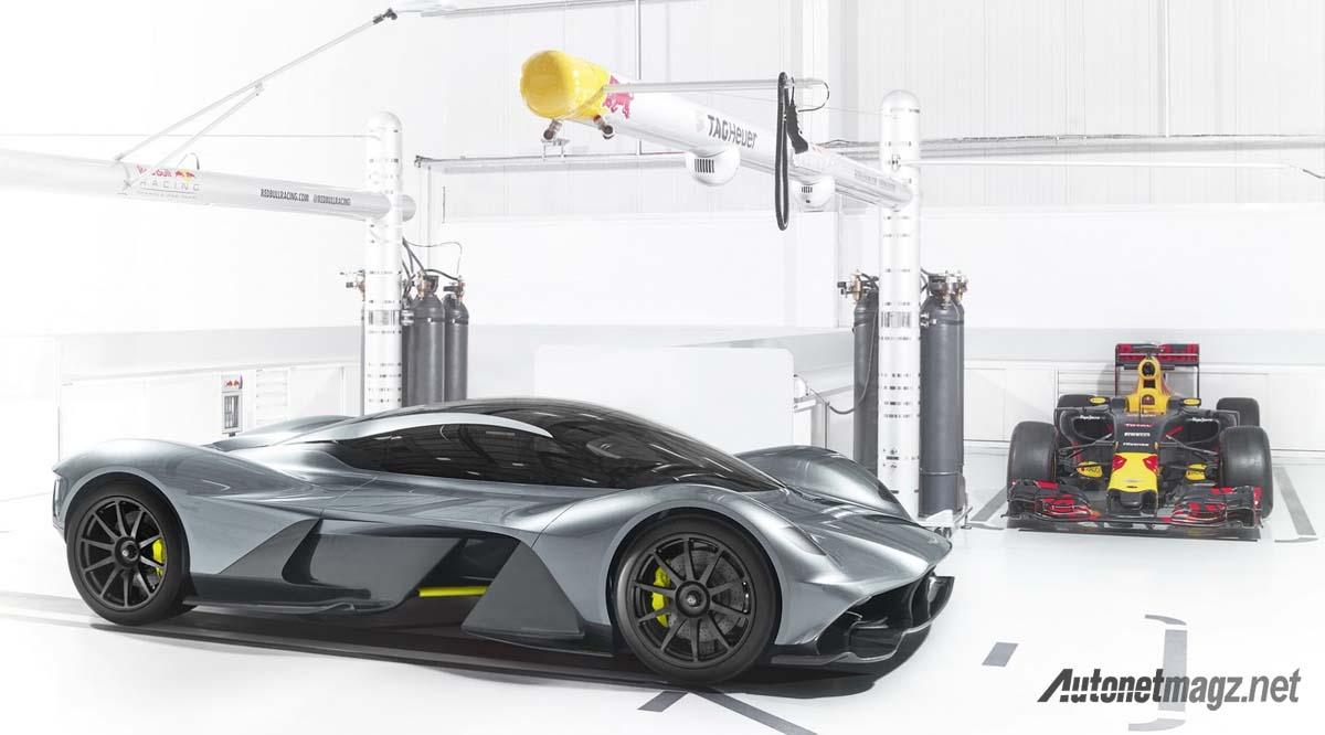 Aston Martin, aston martin red bull am-rb 001: AM-RB 001, Kreasi Ambisius Aston Martin dan Red Bull