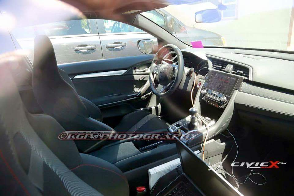 honda civic si 2017 prototype interior