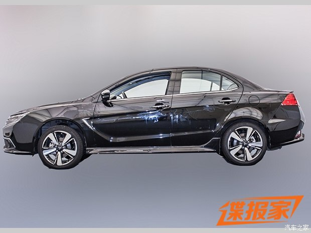 mitsubishi lancer facelift china side