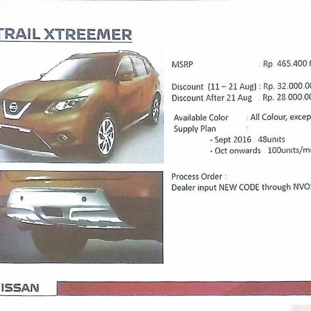 Diskon Nissan X-Trail