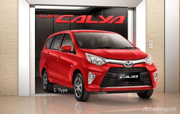 Harga Toyota Calya tipe G