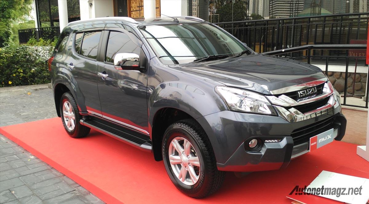 Isuzu MU-X facelift