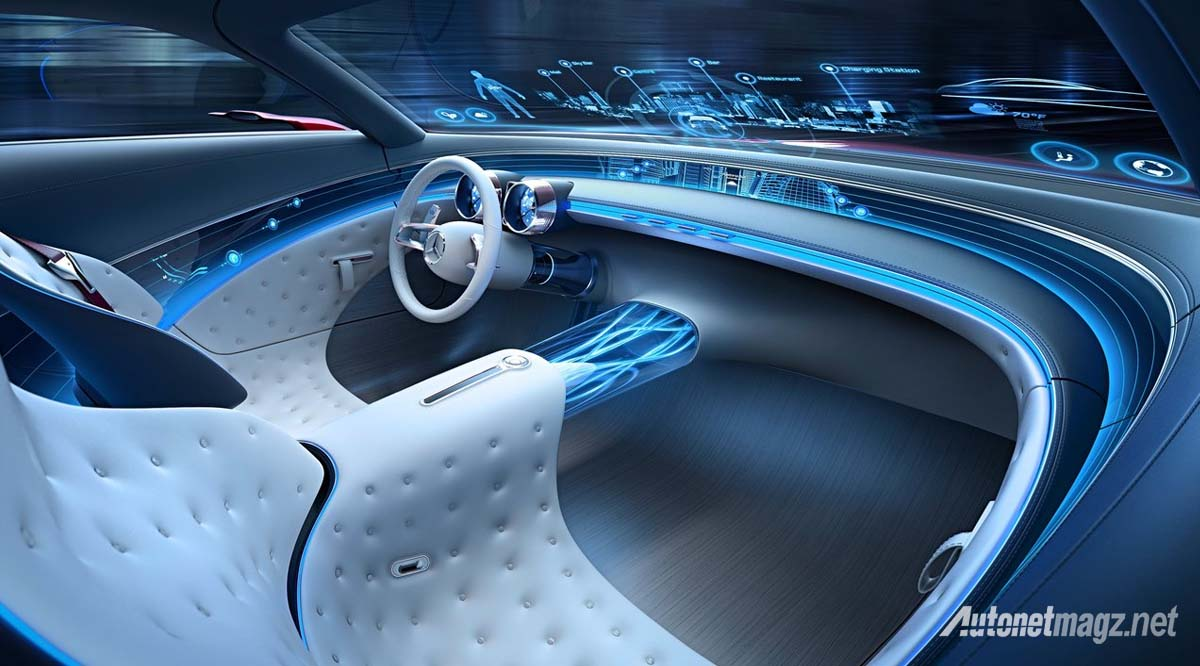 Mercedes Benz Vision Maybach 6 Concept interior