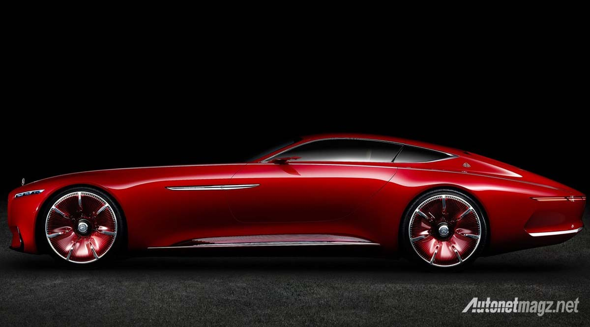 Mercedes Benz Vision Maybach 6 Concept side view