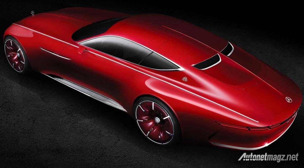 Mercedes Benz Vision Maybach 6 Concept top view