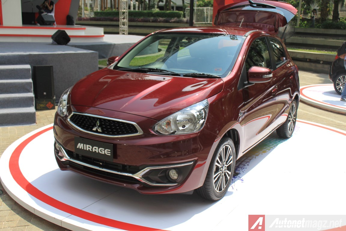 First Impression Review Mitsubishi Mirage Facelift Indonesia