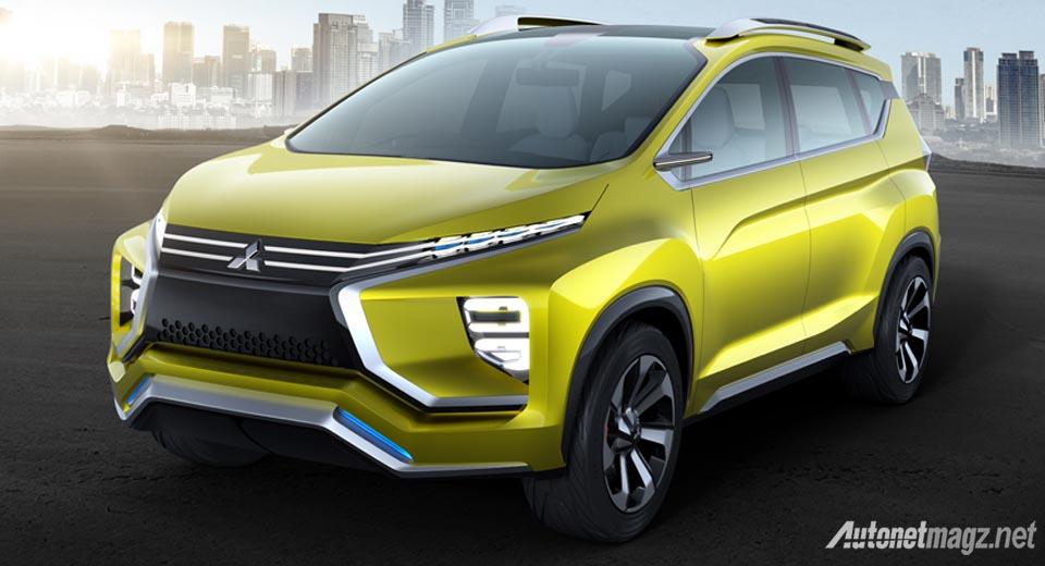 International, Mitsubishi XM Concept: Ini Penampakan Konsep MPV Mitsubishi XM Concept