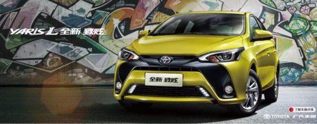 Toyota Yaris L Facelift