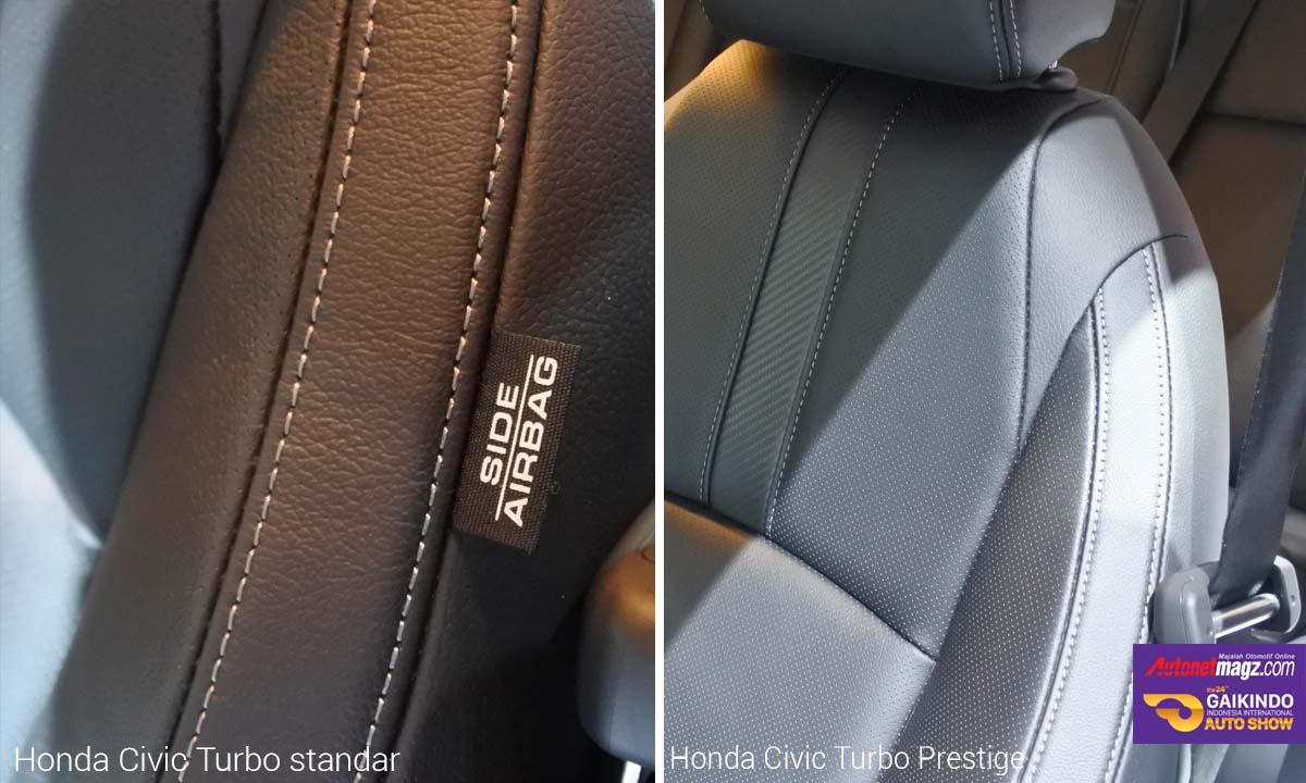 airbag samping honda civic turbo prestige di GIIAS 2016