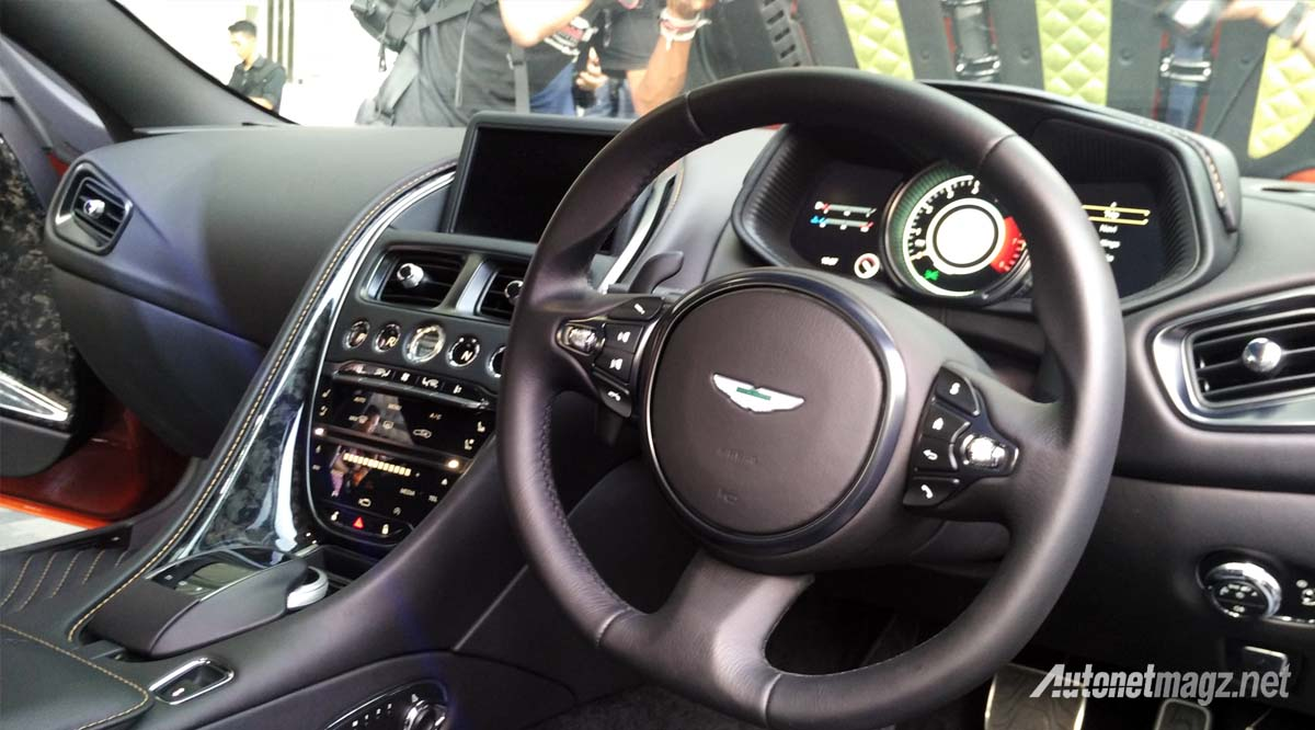 aston martin db11 dashboard