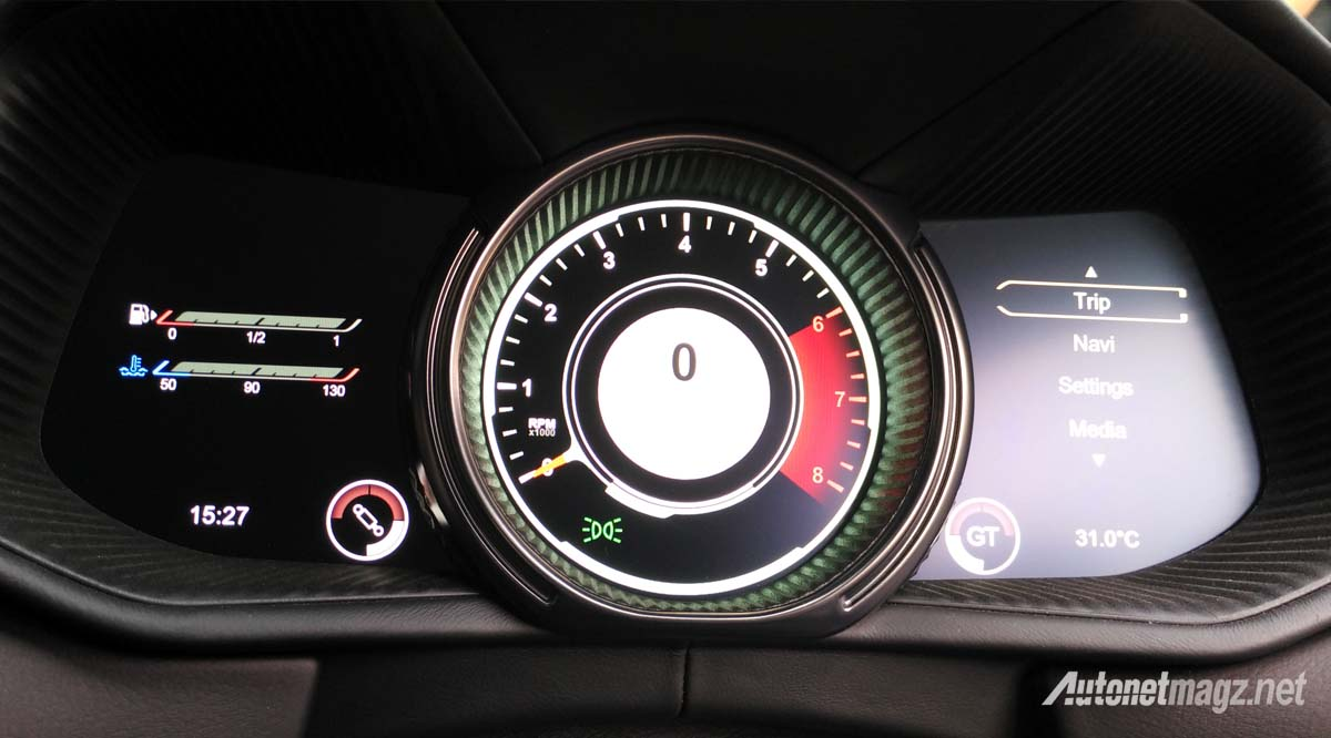 aston martin db11 instrument panel