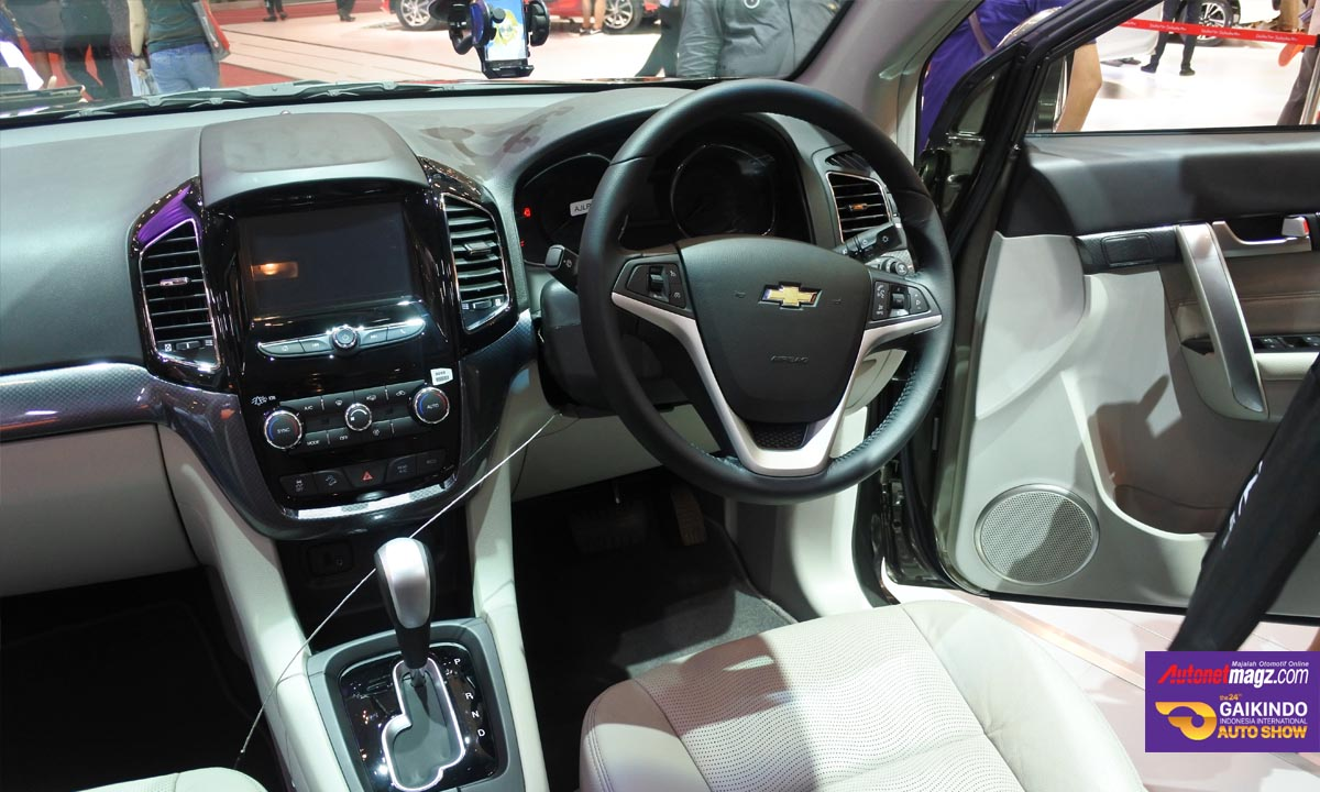 chevrolet captiva facelift dashboard giias 2016