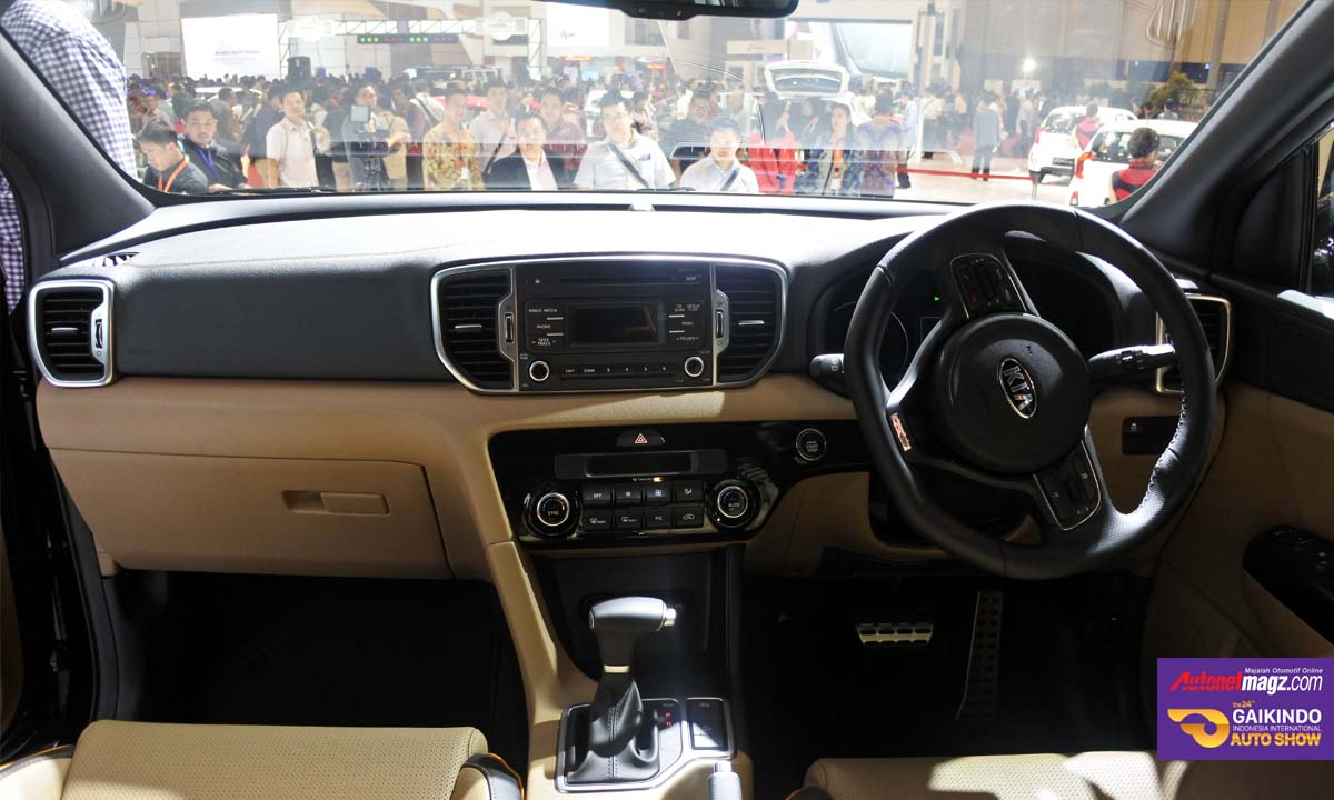 interior kia sportage indonesia