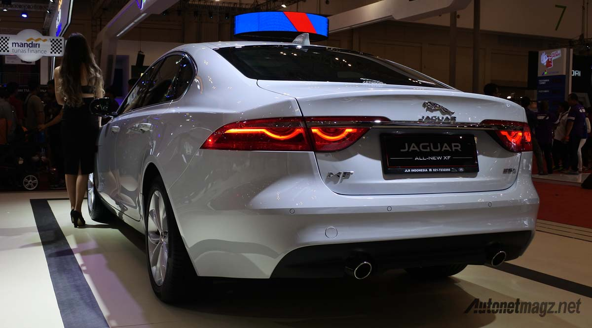 jaguar xf facelift 2016 rear