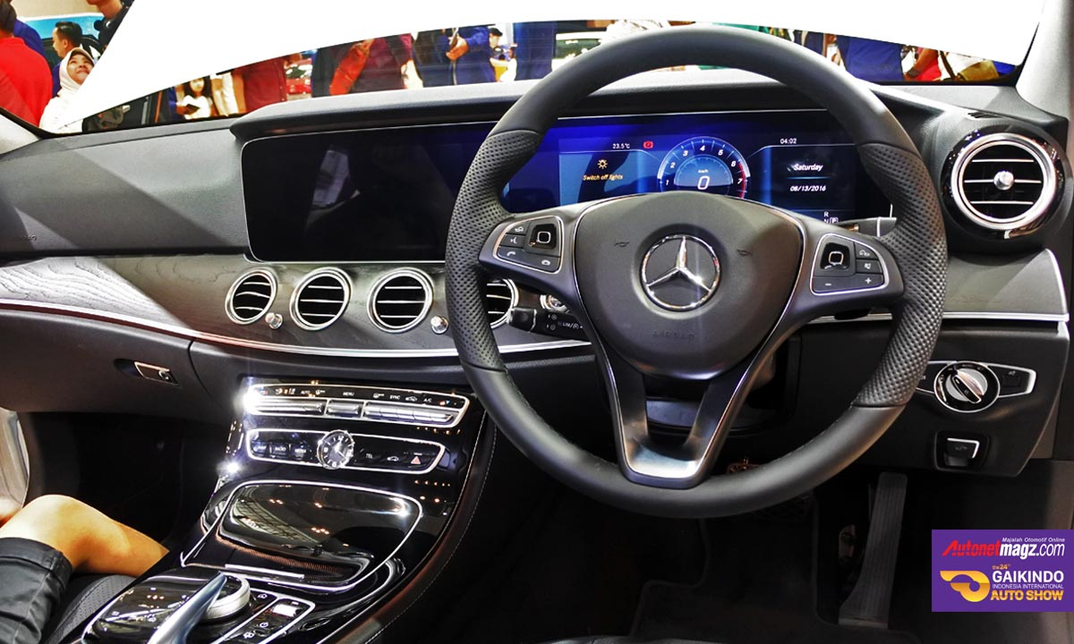 mercedes benz e300 giias 2016 interior