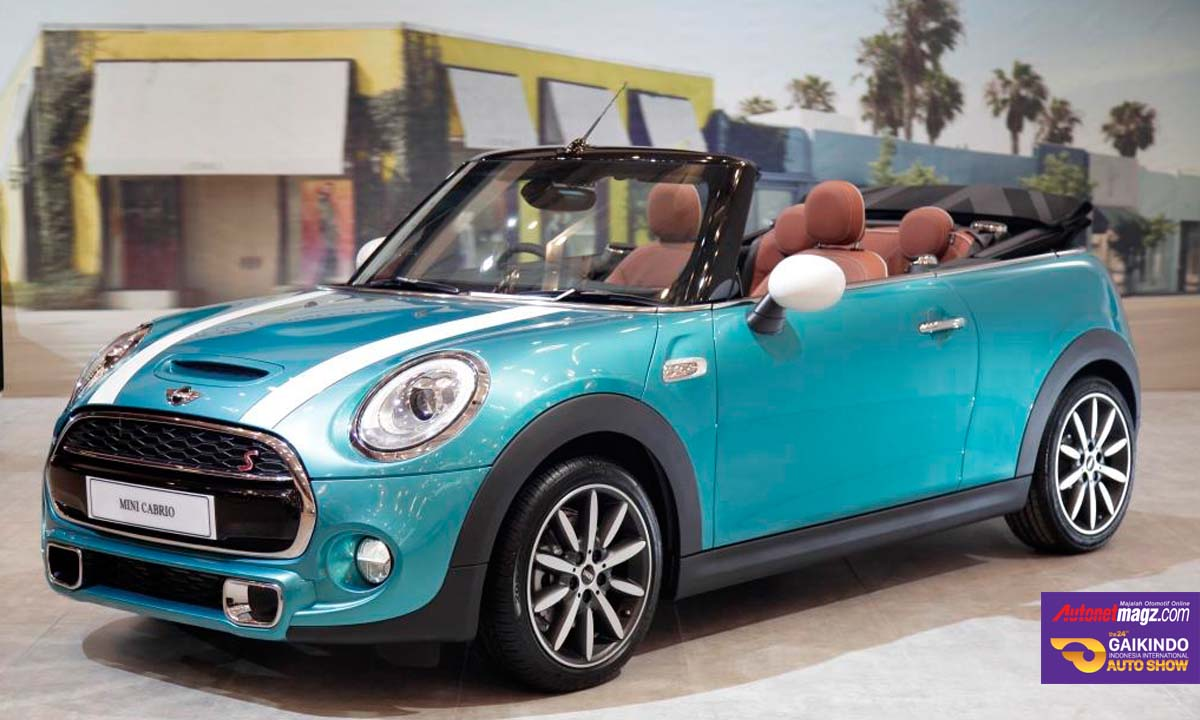 mini cabriolet di giias 2016