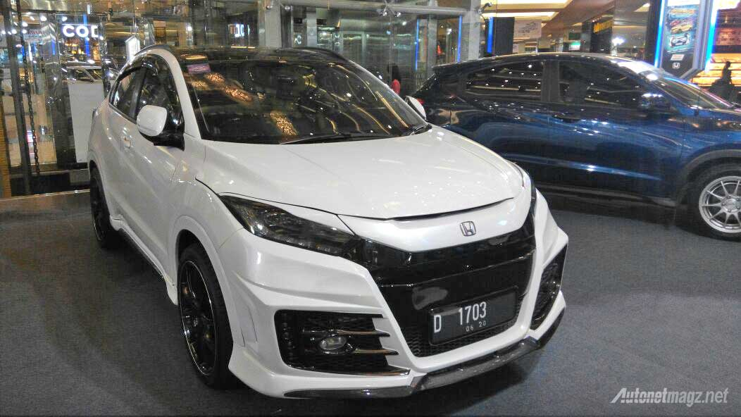 bodykit honda hr v autonetmagz review mobil dan motor. Black Bedroom Furniture Sets. Home Design Ideas