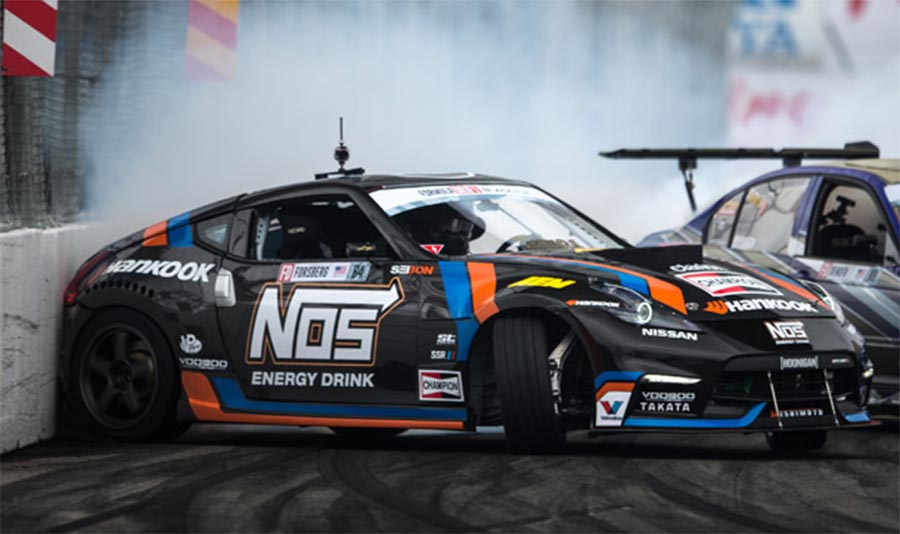 chris fosberg nissan 370z hankook tire formula drift