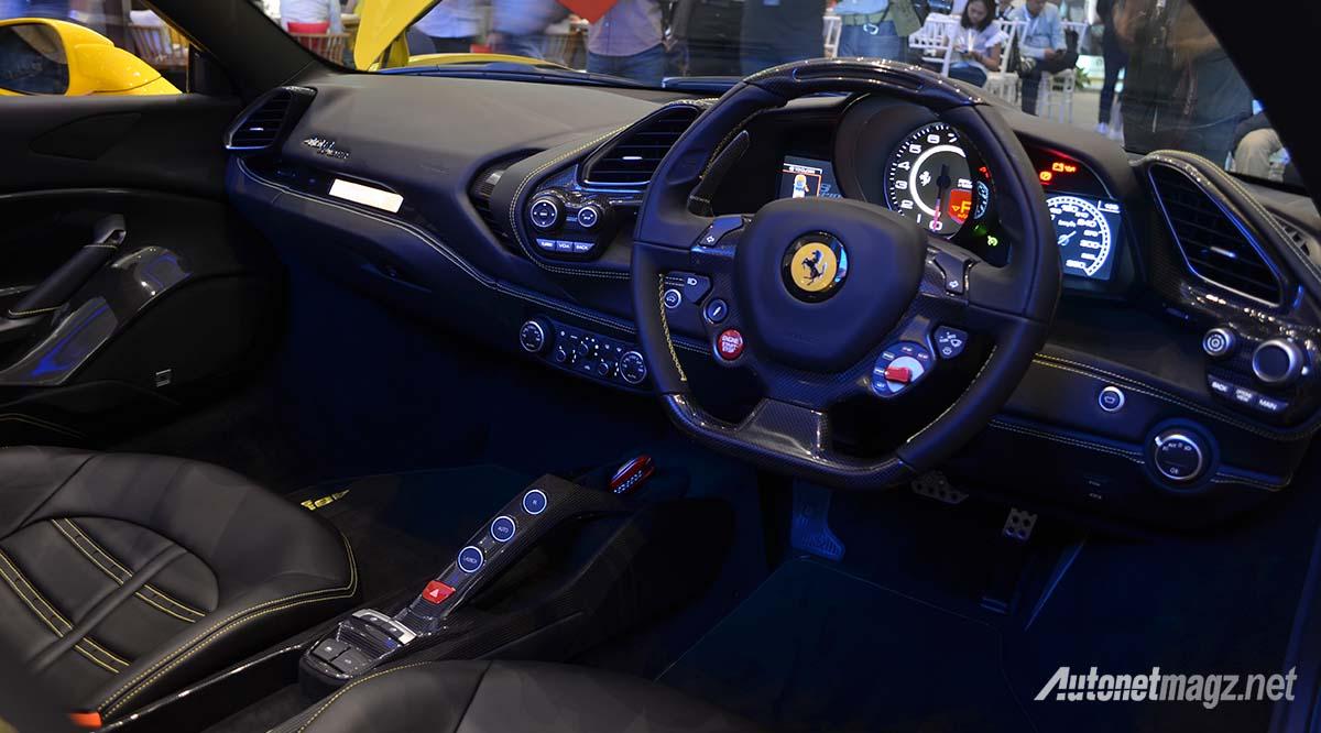 Ferrari 488 Spider Indonesia Interior