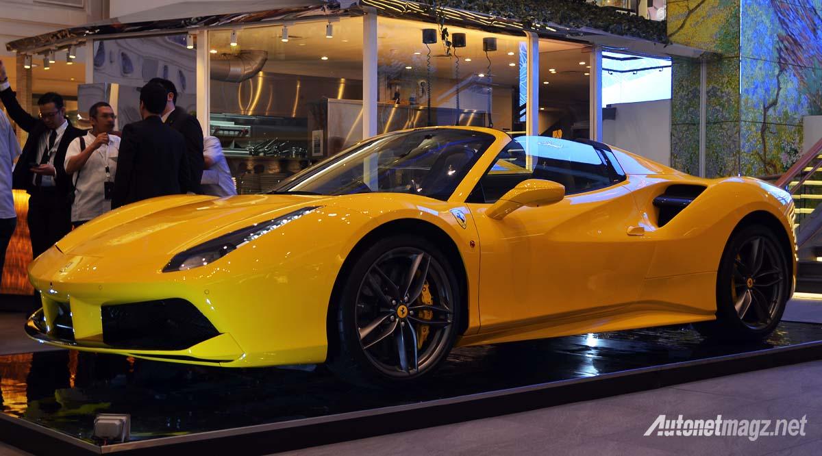 Ferrari Jakarta Resmi Datangkan Ferrari 488 Spider Autonetmagz