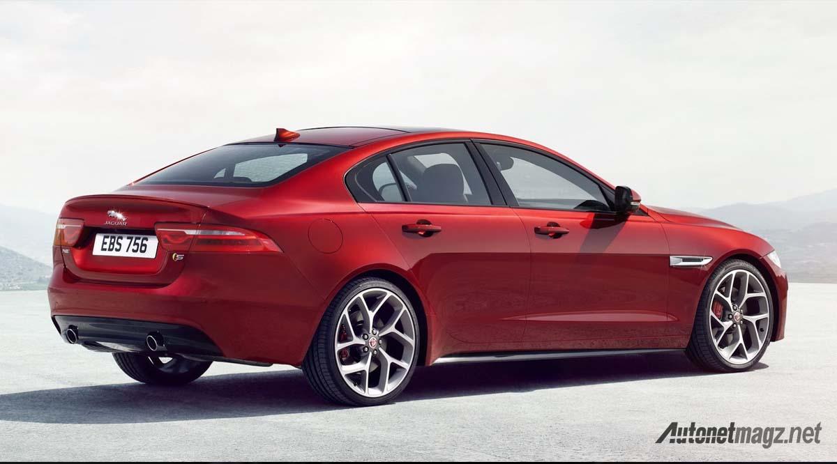 jaguar xe 2016 rear