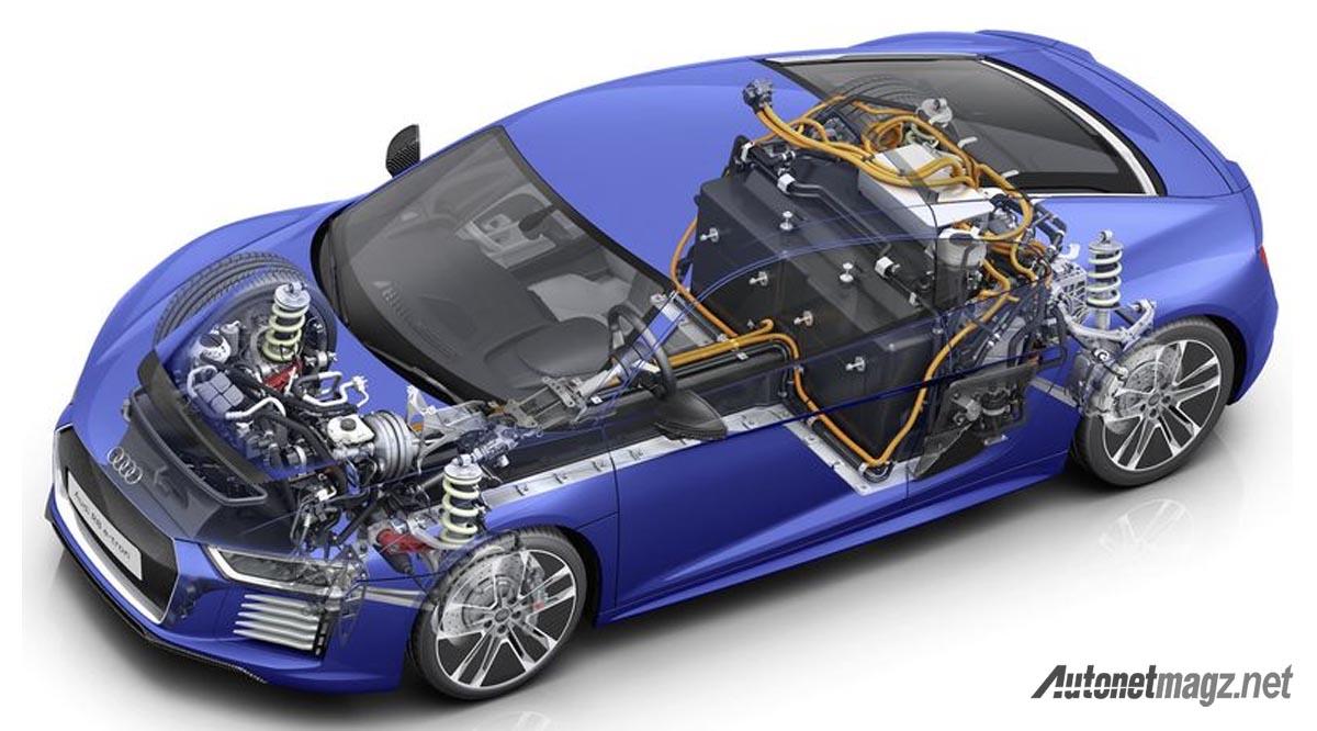teknologi mobil listrik audi r8 e tron