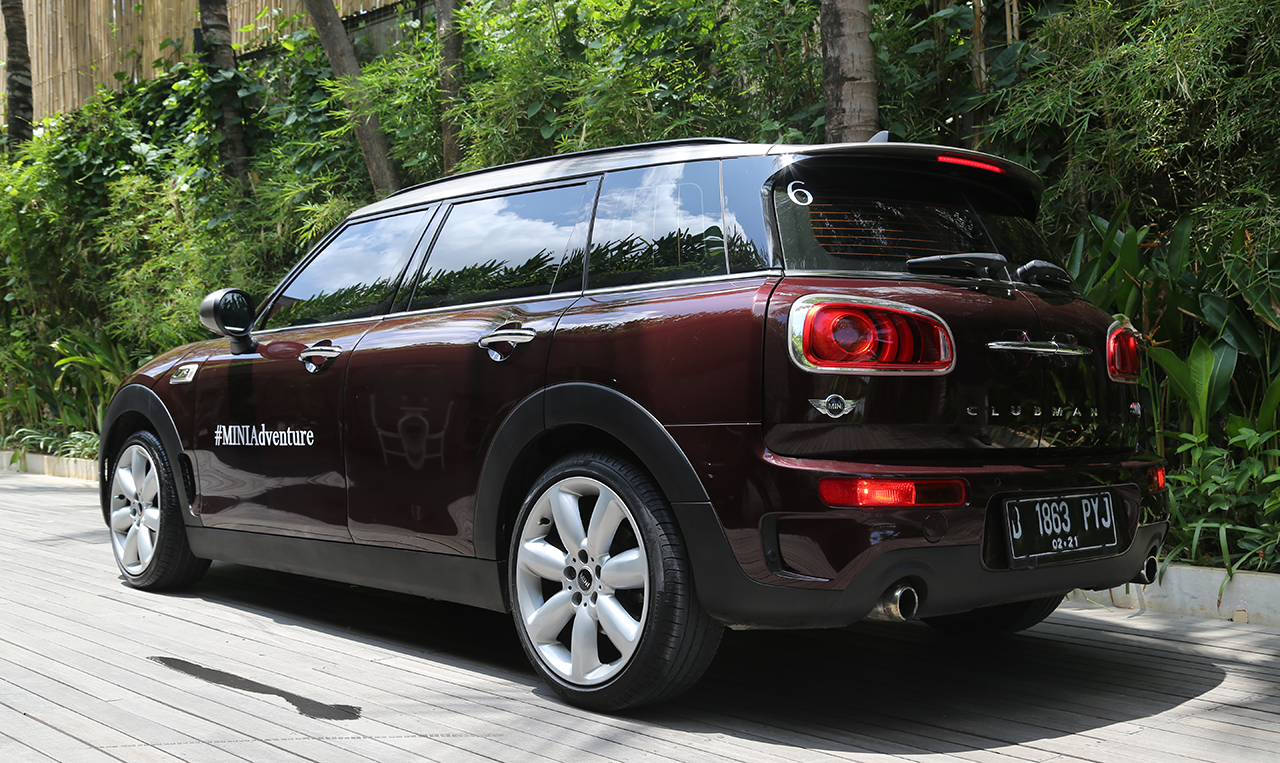Mini, mini-clubman-rear-fascia: Review Mini Cooper S Clubman : Need Extra Space?
