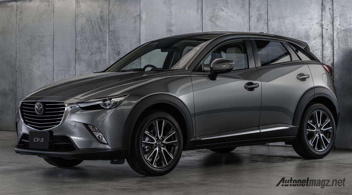 International, mazda-cx-3-facelift: Mazda 2 dan CX-3 Baru Kini Dengan G-Vectoring Control