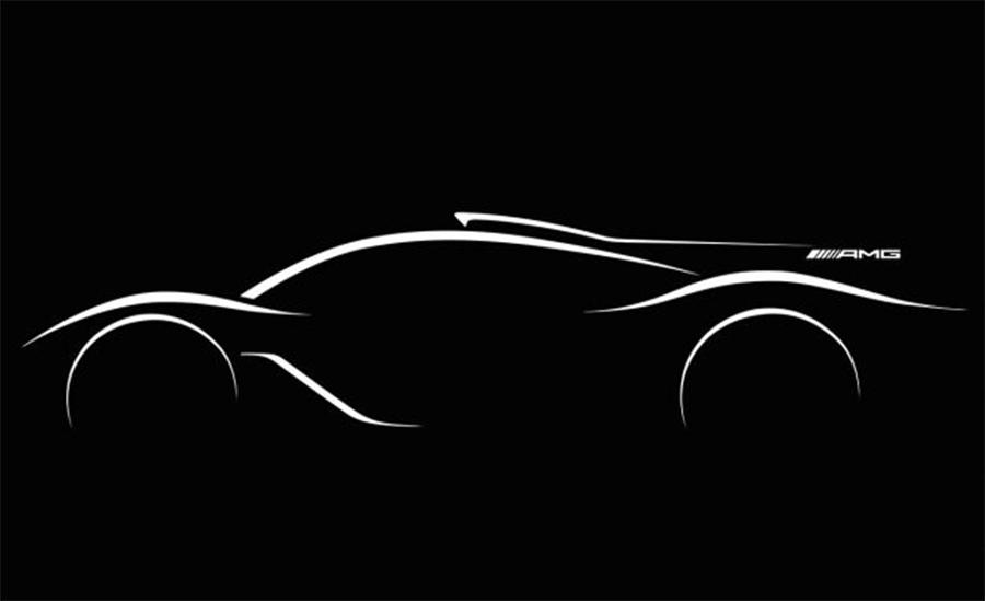 International, teaser-hypercar-mercedes-benz-f1: Ini Detail dan Teaser Hypercar Mercedes Benz Berteknologi F1