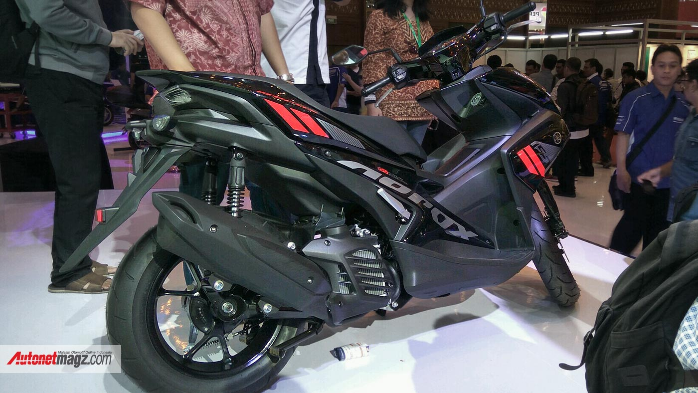 International, harga-yamaha-aerox-155-atau-nvx: Yamaha Aerox 155 Diluncurkan Dengan Mesin NMax