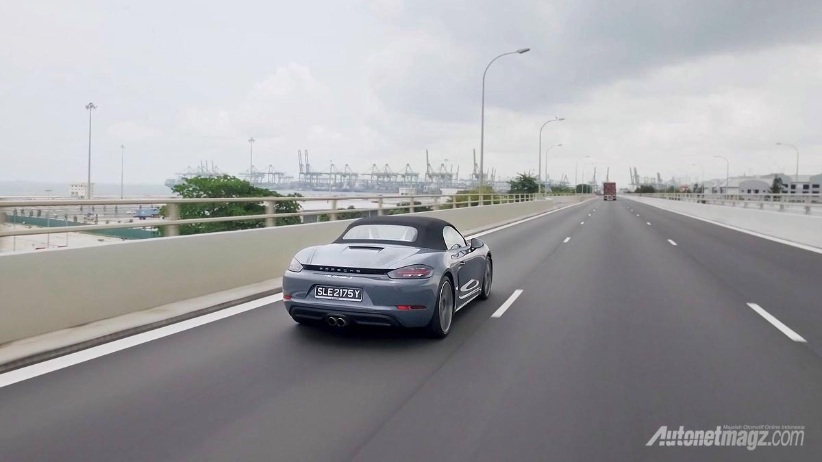 Event, top-speed-porsche-718-boxster-s: Porsche 718 Boxster Singapore Media Driving 2016: A Stylish and Improved Roadster From Porsche