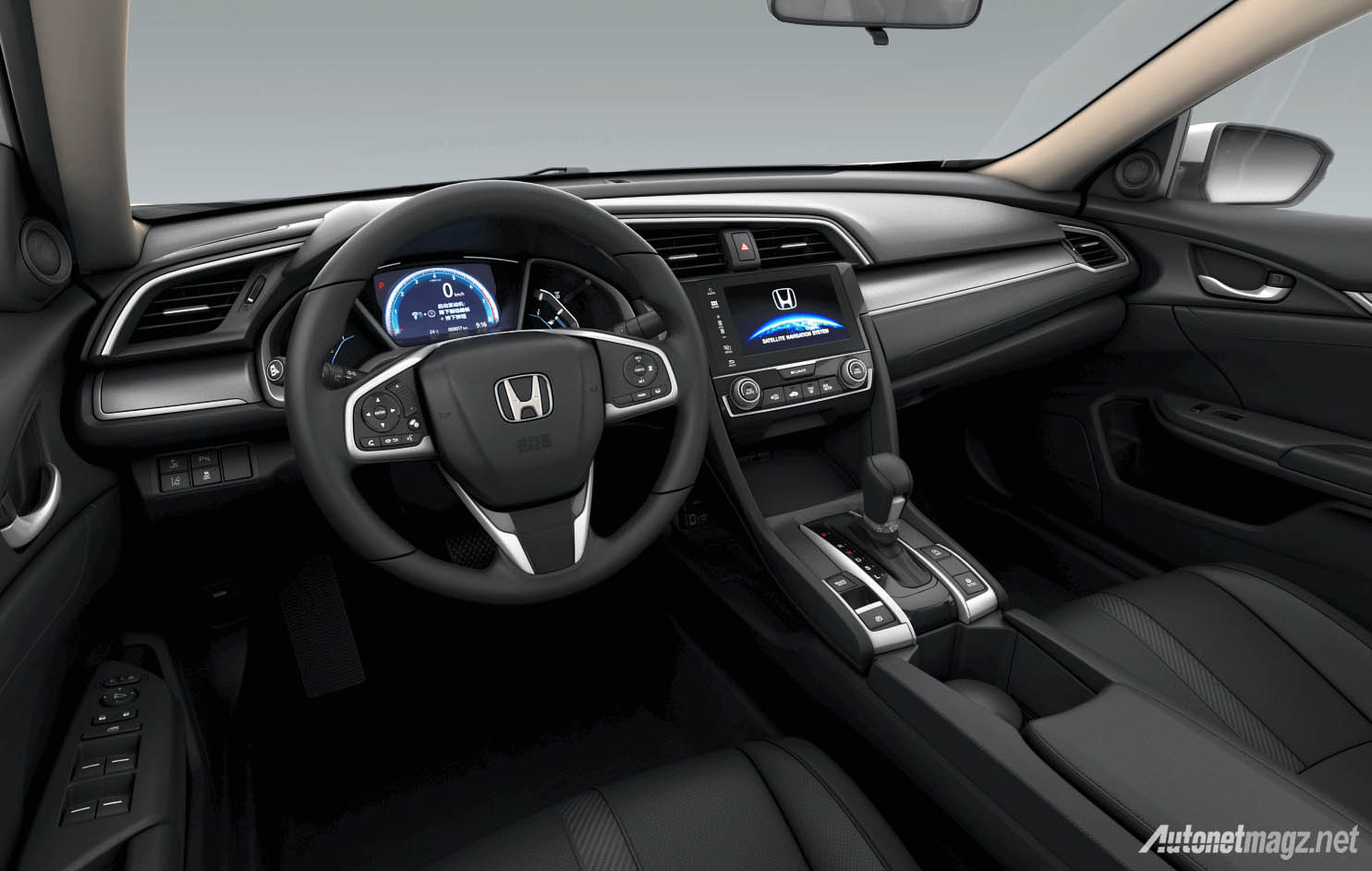 honda-civic-turbo-china-interior