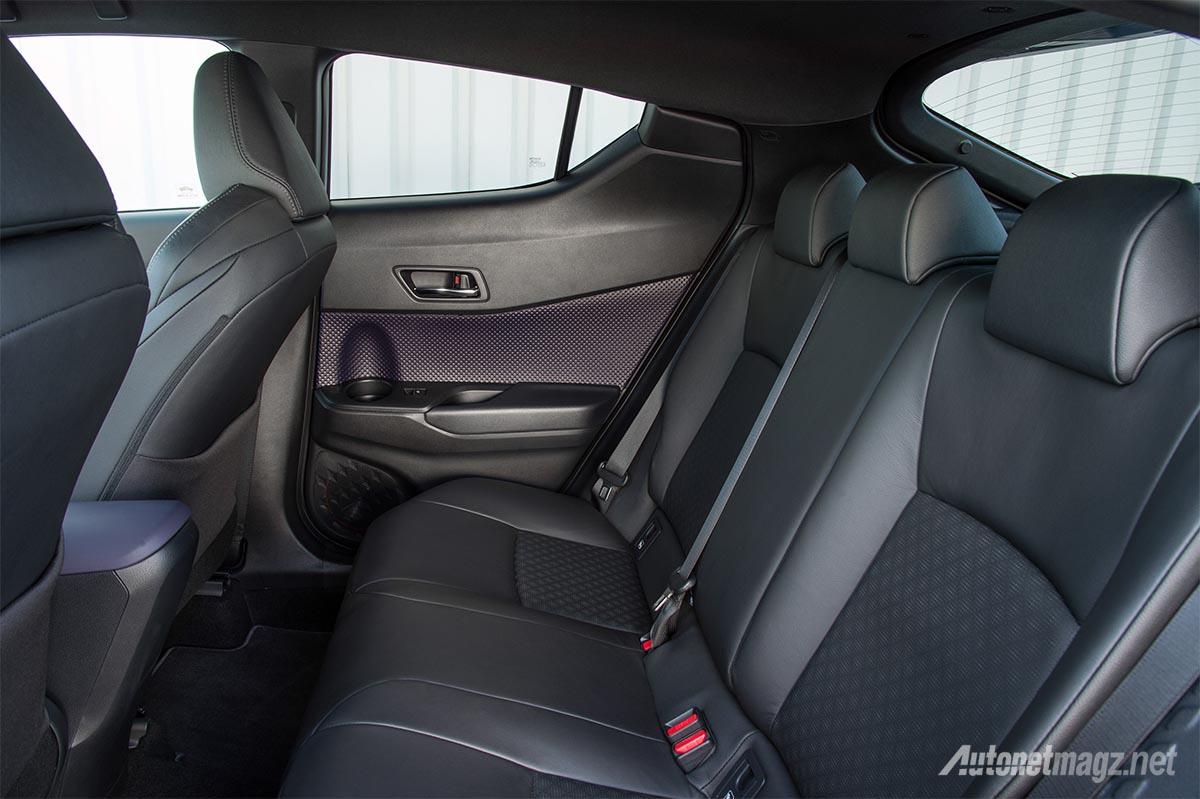 Akhirnya Toyota C HR Pamerkan Ruang Belakang Dan Bagasinya AutonetMagz