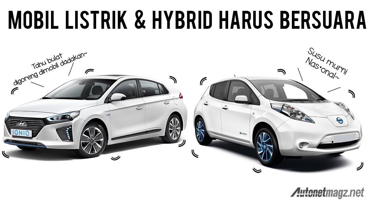 NHTSA Mobil Listrik Dan Hybrid Wajib Bersuara Mulai 2019 AutonetMagz