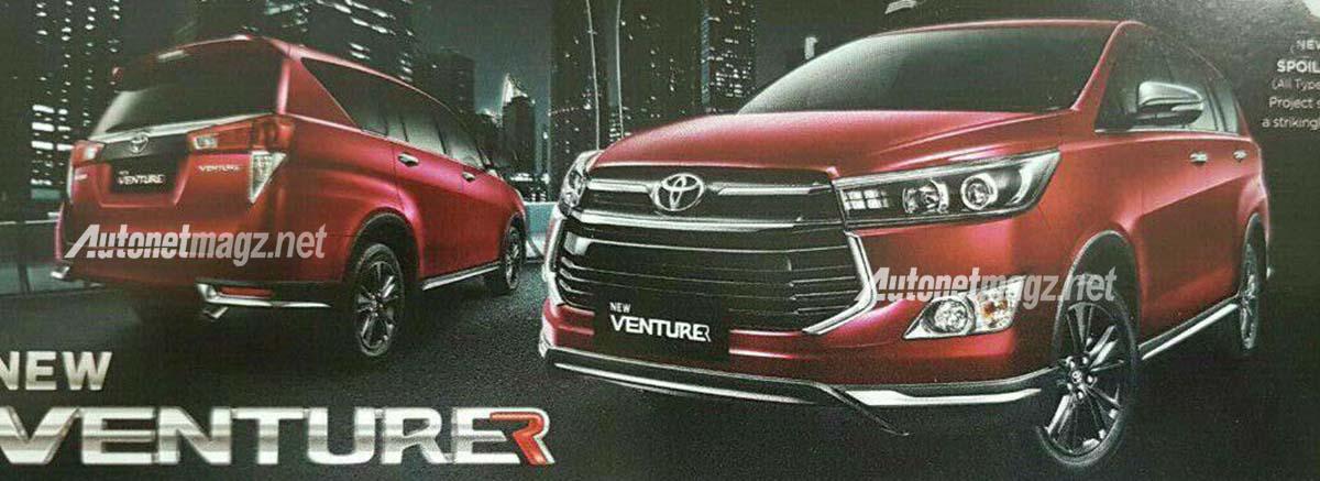 Mobil Baru, foto toyota kijang innova venturer: Tampilan Toyota Kijang Innova Venturer Terkuak, Bagaimana?
