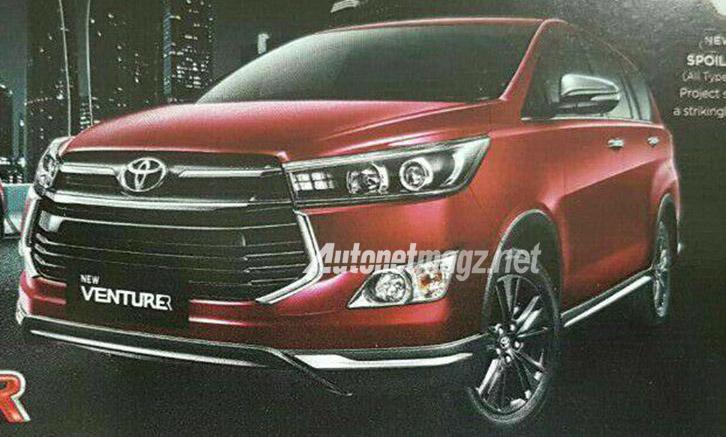 Mobil Baru, toyota kijang innova venturer front: Tampilan Toyota Kijang Innova Venturer Terkuak, Bagaimana?