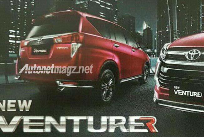 Mobil Baru, toyota kijang innova venturer rear: Tampilan Toyota Kijang Innova Venturer Terkuak, Bagaimana?