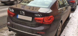 BMW 1 Series Sedan Germany spy shot 2017