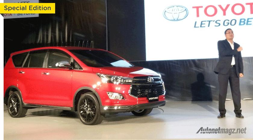 Toyota Innova Venturer Meluncur Lebih Mahal Dari Fortuner