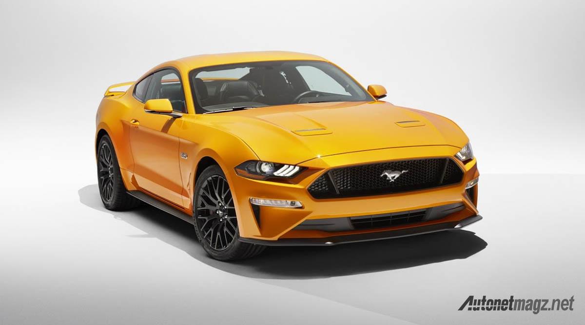 Ford ford mustang facelift 2018 ford mustang facelift 2018 kece atau memble