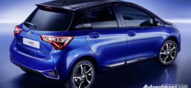 2017 all new toyota yaris eropa jepang facelift color
