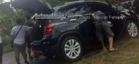 Chevrolet Trax facelift 2017 spyshot Indonesia