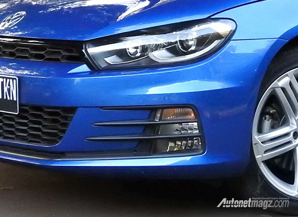 Mobil Baru, Cornering light VW Scirocco facelift 2017: Volkswagen Scirocco 2017 Review : Daily Use Head-Turner