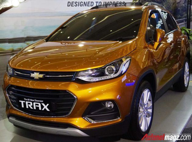 First Impression Review New Chevrolet Trax Facelift 2017 Autonetmagz