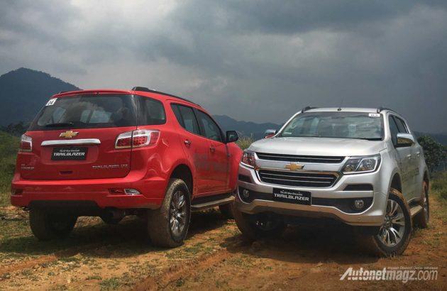 Kami harus akui kami tidak pernah menganggap mobil-mobil Chevrolet yang ada di Indonesia punya kelebihan dalam hal desain namun Trailblazer facelift? & Chevrolet Trailblazer Facelift 2017 Review : Tough Threat - AutonetMagz