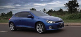 Review and test drive VW Scirocco 2017