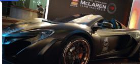 McLaren Club Indonesia di sponsori Top1 Oil